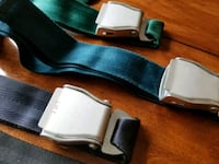 Airplane style seat belt belts Victoria
