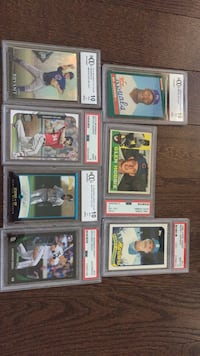 assorted baseball trading card collection Rosemont