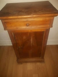 brown wooden 2-drawer nightstand Montreal