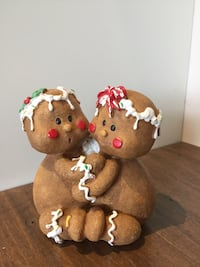 Gingerbread candle stick holder
