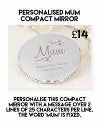 silver Muni compact mirror advertisement Reading, RG2 8JD