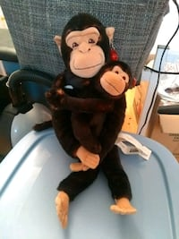 black and brown monkey plush toy Montreal, H4G 2Y7
