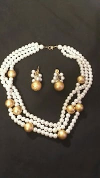 Beautiful Antique Pearl And Gold Set Clinton, 20735