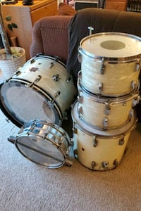 1961-62 Ludwig 5PC Drumset