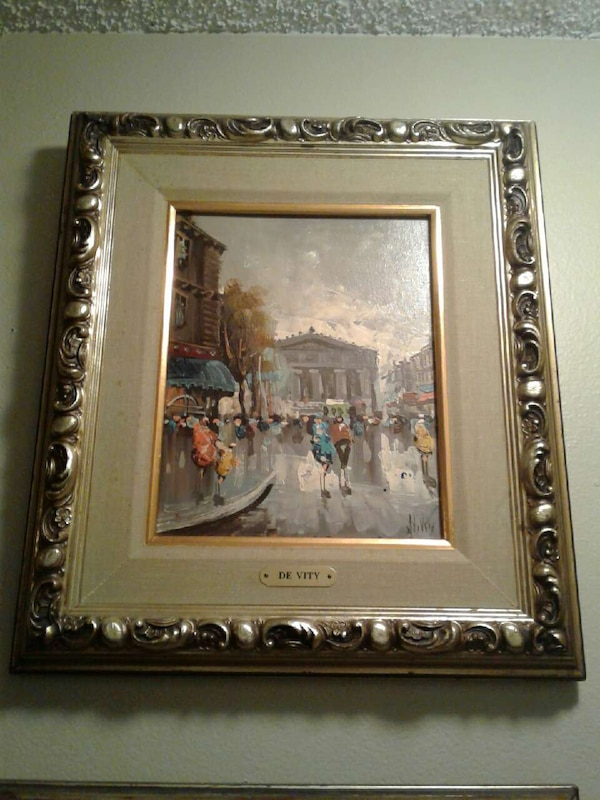Used DE VITY 2 PAINTINGS TURNER WALL ACCESSORY for sale in Tamarac ...