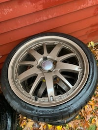 Sport/racing rims and tires