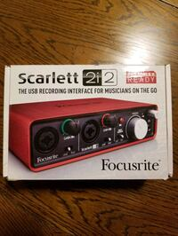 Scarlett 2i2 (1st Generation) Audio Interface Towson, 21204