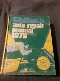 Auto repair manual  Hagerstown, 21742