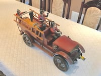 Antique vintage wood/metal fire truck Whitby