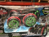 New in stock, double-side stunt 4WD car
