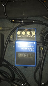 BOSS CS3 PEDAL - COMPRESSOR SUSTAINER PEDAL - CS-3