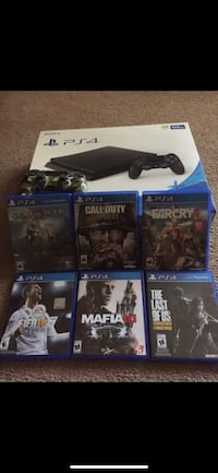 Ps4, controllers , games , and charger  Charlotte, 28211