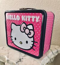 white and pink Hello Kitty print case San Marcos, 92078