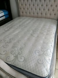 white and gray floral mattress Bell Gardens, 90201