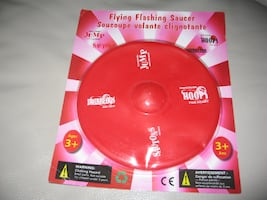 Flying Flashing Saucer