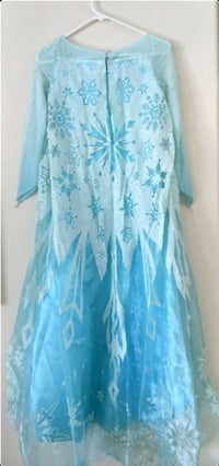 Kid Size Elsa Frozen Dress  Sacramento