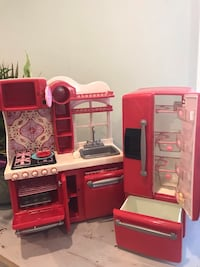 Refrigerator and kitchen toy