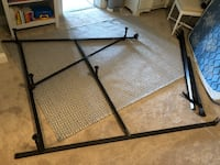 Metal bed frame - queen size and/ or full size  Arlington, 22201