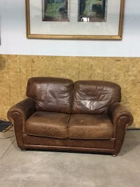Leather Love Seat Mead, 80504