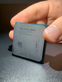 AMD Athlon 200GE fan ile