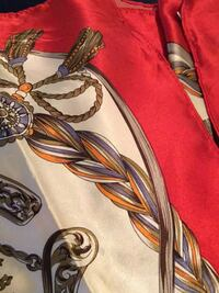 Beautiful silk scarf from thailand Red Deer, T4P 3X1