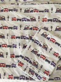 Full size sheet set - trains Ashburn, 20148