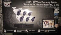 6 CAMERAS AND RECIEVER   Day and night vision cameras  Sealed Box New