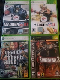 Xbox and Xbox 360 games