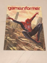 Marvel Spider-Man Gameinformer Magazine Bethlehem, 18018