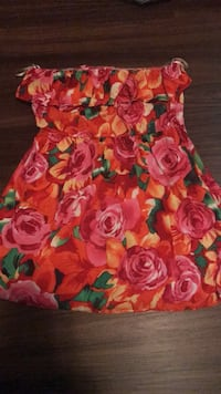 red and yellow floral print dress Lexington Park, 20653
