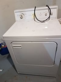 white front-load clothes dryer Edmonton, T5A 2H3