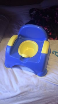 Baby's yellow and blue plastic potty trainer Winnipeg, R2G