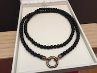 Thomas sabo black bead necklace Vancouver, V6M 2P9