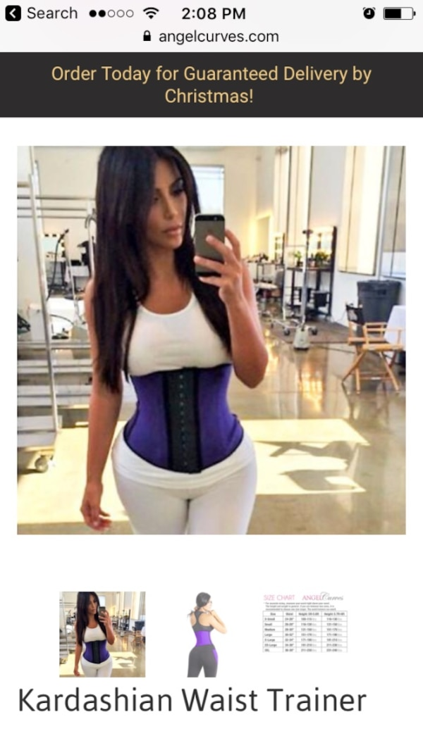 72980e0dae802 Used Kim kardashian waist trainers brand new for sale in Middle ...