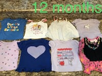 Toddler's assorted clothes Mission, 78574