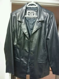 leather coat London