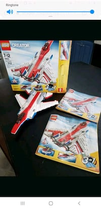 Lego Creator fast flyer with box and manual Alexandria, 22308