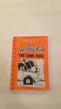 Diary of a Wimpy Kid The Long Haul by Jeff Kinney book
