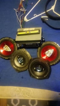 two black and red coaxial speakers Phoenix, 85009