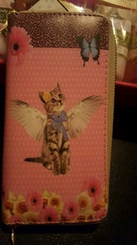 NEW Kitty Wallet
