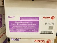 14 boxes of Digital Printing Paper 11x17 Schaumburg, 60173