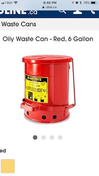 Waste Can - 6 gallon Vaughan, L4H 1M1