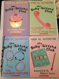 Teen's book set- The Baby-sitters Club Richmond, V7E