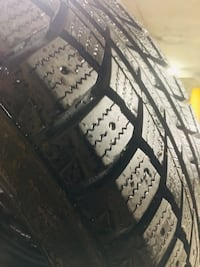 4 winter tire 215/60/16 with rims like new in perfect condition. Pointe-Claire, H9R