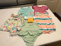Baby Girl Clothes, 46 pieces, 12 months,  Norco, 92860