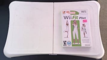 Wii Fit Game + Board