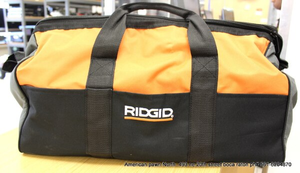 1a6353aab174 Used NEW RIDGID HEAVY DUTY LARGE (23X14X10) TOOL BAG for sale in ...