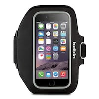 Belkin Sport-Fit Plus Armband for iPhone 6 (Blacktop / Overcast) Toronto