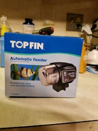Top fin automatic fish feeder Monrovia, 21770