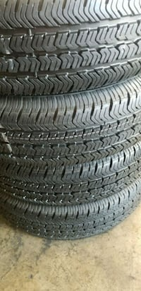 4 tires Goodyear 225 /75/16 with Alignment  Anaheim